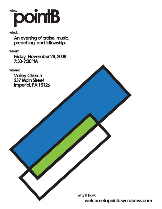 design for pittsburgh ministry pointB