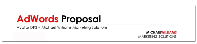 adwords proposal